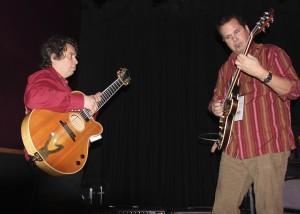 Hoar4d Alden and Doug Perkins @ the MI Reunion