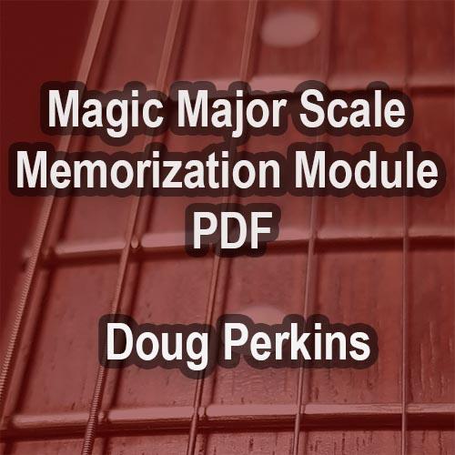 Magic Major Scale Memorization Module